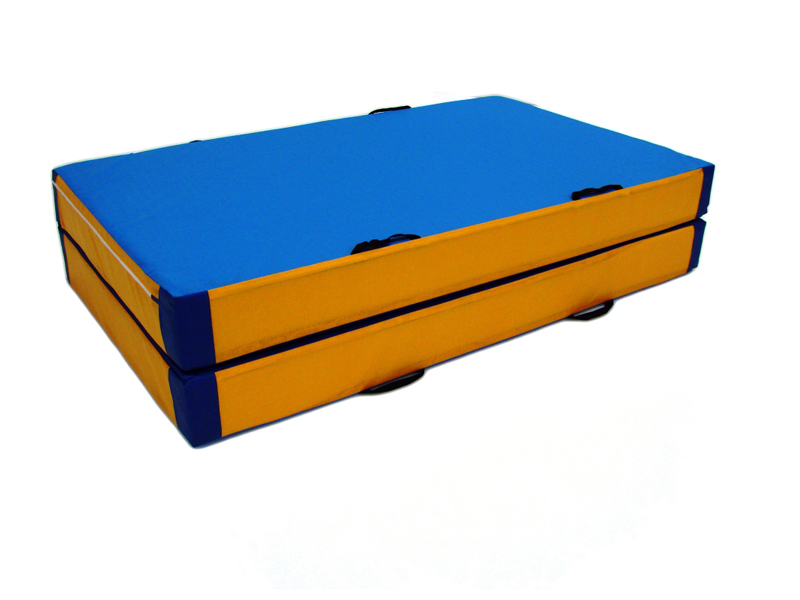 matelas de reception pliable en 2 airgoal equipements de sports. Black Bedroom Furniture Sets. Home Design Ideas