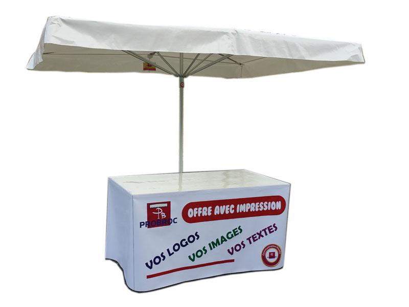 location parasol forain probroc equipements de march. Black Bedroom Furniture Sets. Home Design Ideas